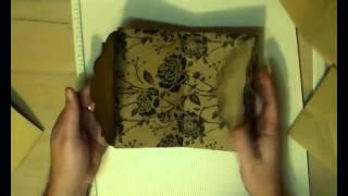 getlinkyoutube.com-Sharing how I make paper pockets for journals