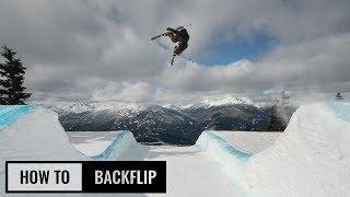 getlinkyoutube.com-How to backflip on skis - skiing back flip - Ski Addiction