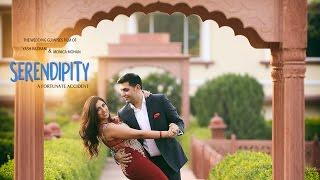 getlinkyoutube.com-'Serendipity' - The wedding Glimpses film of Yash & Monica.