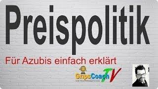 getlinkyoutube.com-Preispolitik einfach erklärt - Prüfungswissen für Azubis ★ GripsCoachTV