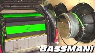 getlinkyoutube.com-BASSMAN's JEEP CHOKES YOU w/ 24,000 Watts of POWER! BIGGEST Crescendo Amplifier EVER | Encore 12k