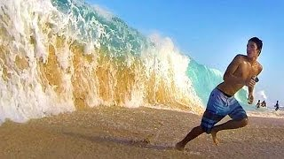 getlinkyoutube.com-Big and Crazy Shorebreak!