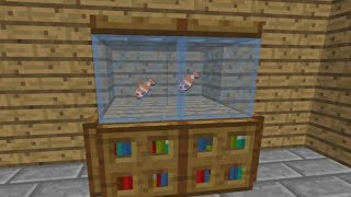 getlinkyoutube.com-How to make a Fish Tank in Minecraft! [UPDATED]