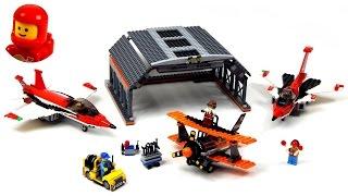 getlinkyoutube.com-Lego City 60103 Airport Air Show Lego Speed Build