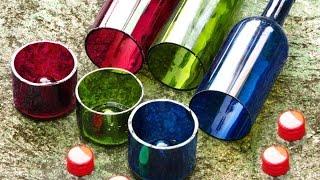getlinkyoutube.com-Como Cortar Una Botella De Vidrio Con Bordes Perfectos y mui facilmente