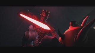 getlinkyoutube.com-Star Wars: The Clone Wars - Savage Opress vs. Darth Maul [1080p]