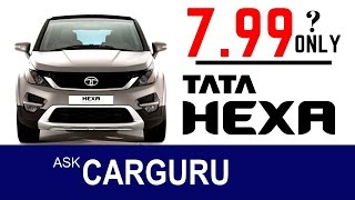 getlinkyoutube.com-TATA HEXA 7.99 Lakh only ??? Pricing leaked, ask CARGURU about fact.