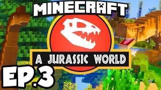 getlinkyoutube.com-Jurassic World: Minecraft Modded Survival Ep.3 - WORKING SMELTERY!!! (Rexxit Modpack)