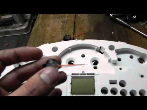 Тюнинг щитка приборов - 5 часть (яркая подсветка и изменение цвета стрелок)