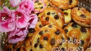 getlinkyoutube.com-Brioches aux raisins/Schneck with raisins بريوش بالزبيب-Sousoukitchen