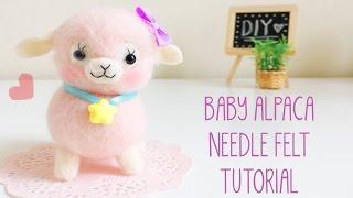 getlinkyoutube.com-Needle Felt Baby Alpaca Tutorial inspired by Japanese Alpacasso