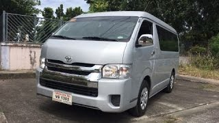 getlinkyoutube.com-2017 Toyota Hiace GL Grandia 3.0 MT Full Review