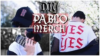 DIY PABLO INSPIRED MERCH! DIY Tumblr Clothes for Summer 2017!