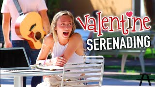 getlinkyoutube.com-FREESTYLE SERENADING FOR VALENTINES!!