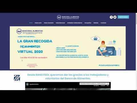 Del 16 al 22 de noviembre: La Gran Recogida Virtual 2020 de Bancosol