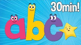 getlinkyoutube.com-ABC Songs | Phonics Songs | Lowercase | Super Simple ABCs