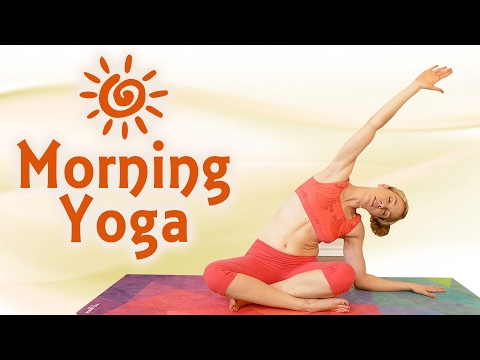 Fast Morning Yoga for Energy with Lindsey! 10 Minute Beginners Stretch, Weight Loss