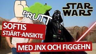getlinkyoutube.com-SOFTIS STJÄRT-ANSIKTE | Star Wars med Figgehn och Jnx