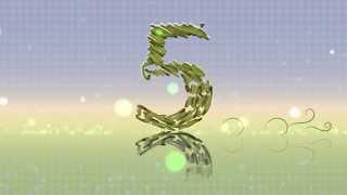 getlinkyoutube.com-4K UHD Sketch Countdown Numbers Floral Trail Video Animation