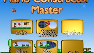getlinkyoutube.com-Mario Constructor Master [Alpha Preview 2]