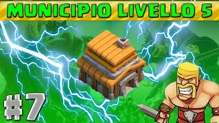 CLASH OF CLANS #7 - Migliori 3 villaggi Municipio 5 (TROFEI/FARMING/IBRIDO)
