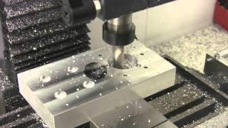 getlinkyoutube.com-Freza metal Wabeco F1200E CNC, prelucrare completa, produse de la www.hobbytools.ro