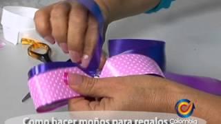 getlinkyoutube.com-Como hacer moños para decorar regalos - Johana Sanchez Aguirre