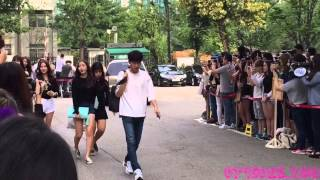 getlinkyoutube.com-[HD Fancam] 150828 Gfriend Music Bank 여자친구 뮤직뱅크 직캠
