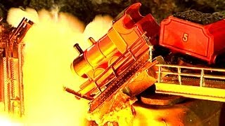 getlinkyoutube.com-Mad Bomber 2 Bridge Explosion Miniature Mountain Models Pyro BTS Ep 3
