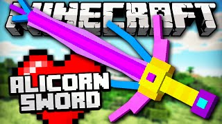 getlinkyoutube.com-THE ALICORN SWORD - Espada mais longa no MINECRAFT! - Minecraft Mythical Creatures Mod Review