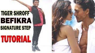 Tiger Shroff - Befikra | Signature Step Tutorial | Nishant Nair