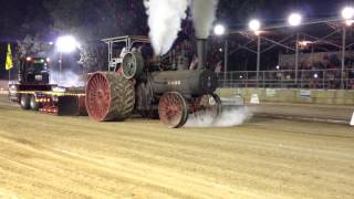 getlinkyoutube.com-110HP Case Steam Tractor Pull Pinckneyville Illinois August 15 2014