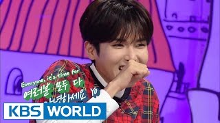 getlinkyoutube.com-Hello Counselor - Heechul, Kang In, Shin Dong, Ryeokwook of Super Junior (2014.10.06)