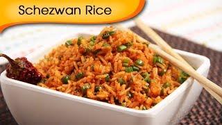 getlinkyoutube.com-Quick Five Minutes Veg Schezewan Rice Recipe - Chinese Main Course Recipe By Ruchi Bharani