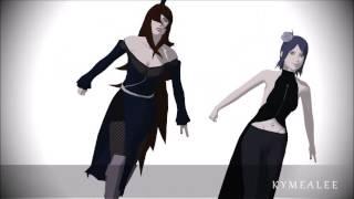 getlinkyoutube.com-[MMD][Naruto] Mei Terumi and Konan - Shojo