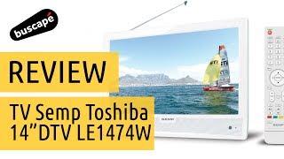"""getlinkyoutube.com-TV Semp Toshiba 14"""" DTV LE1474W - Avaliação"""