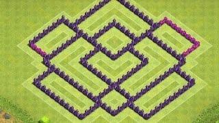 getlinkyoutube.com-تصميم تاون هول لفل 7 لحفظ الكؤوس | Clash Of Clans Town Hall 7 #3