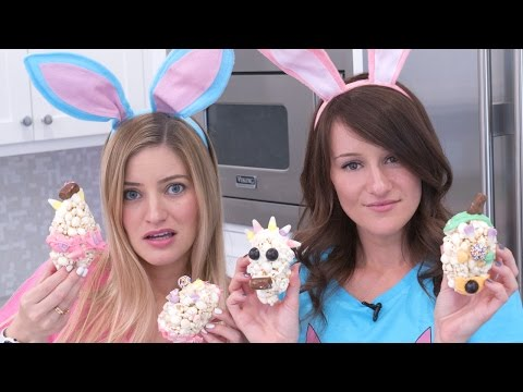 😡 Easter Popcorn Balls - What could go wrong?