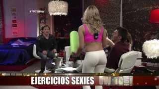"""getlinkyoutube.com-Palomita Cifuentes y su sexy """"fit&roll"""" en #tocshow"""