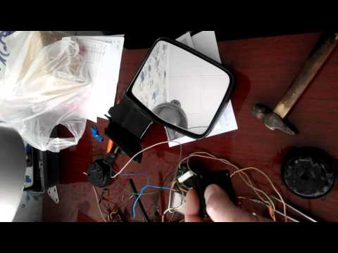 Электропривод зеркал заднего вида на ниссан патрол 260