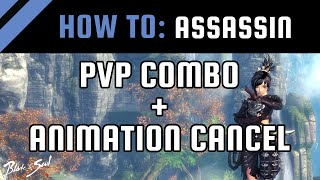 getlinkyoutube.com-How To: Assassin PvP Combo + Animation Cancel [Blade and Soul Guide / Tips]