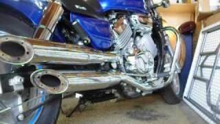 getlinkyoutube.com-2003 Honda Magna (how 2 take out the Baffles)