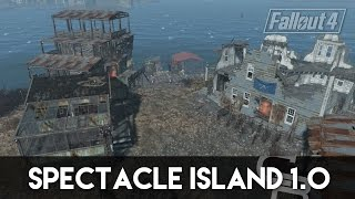 getlinkyoutube.com-Fallout 4 - Spectacle Island 1.0 (Spectacle Island Settlement Tour)