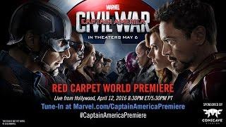 getlinkyoutube.com-Marvel's Captain America: Civil War Red Carpet Premiere