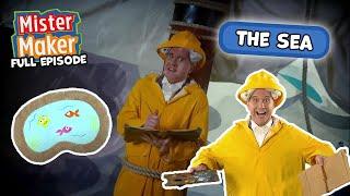 The Sea! | Mister Maker's Arty Party | ZeeKay Junior