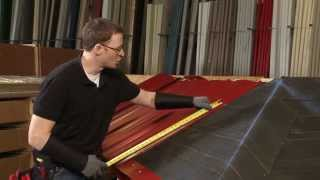 getlinkyoutube.com-How to Install a Hip Panel: ABC SL-16® Metal Roofing System