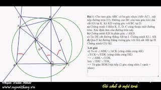 getlinkyoutube.com-Tuyển sinh lớp 10 || Hình học lớp 9 (Phần 1 )|| Phạm Phong- nguoithay
