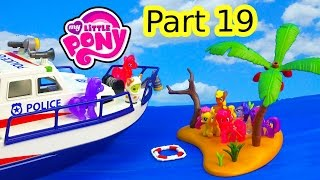 getlinkyoutube.com-Shopkins MLP Airplane Airport Island Rescue My Little Pony 19 Twilight Pinkie Pie Series Video