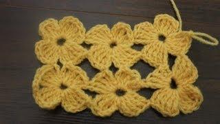 getlinkyoutube.com-How to crochet The Daisy Stitch