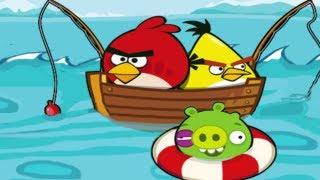 getlinkyoutube.com-Angry Birds Fishing Pigs Pescando Cerdos